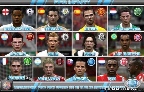 Патч для FIFA 12, который содержит очень качественные лица для именнитых иг